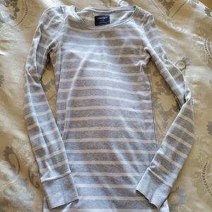 American eagle long sleeve striped tee